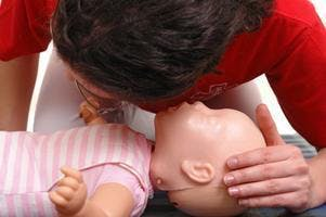 Infant/child CPR, choking relief for Expectan