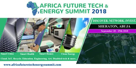 Africa Future Tech & Energy Summit 2021 tickets