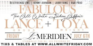 THE ANNUAL ALL WHITE FABULOUS FRIDAY AFFAIR 2018 at...