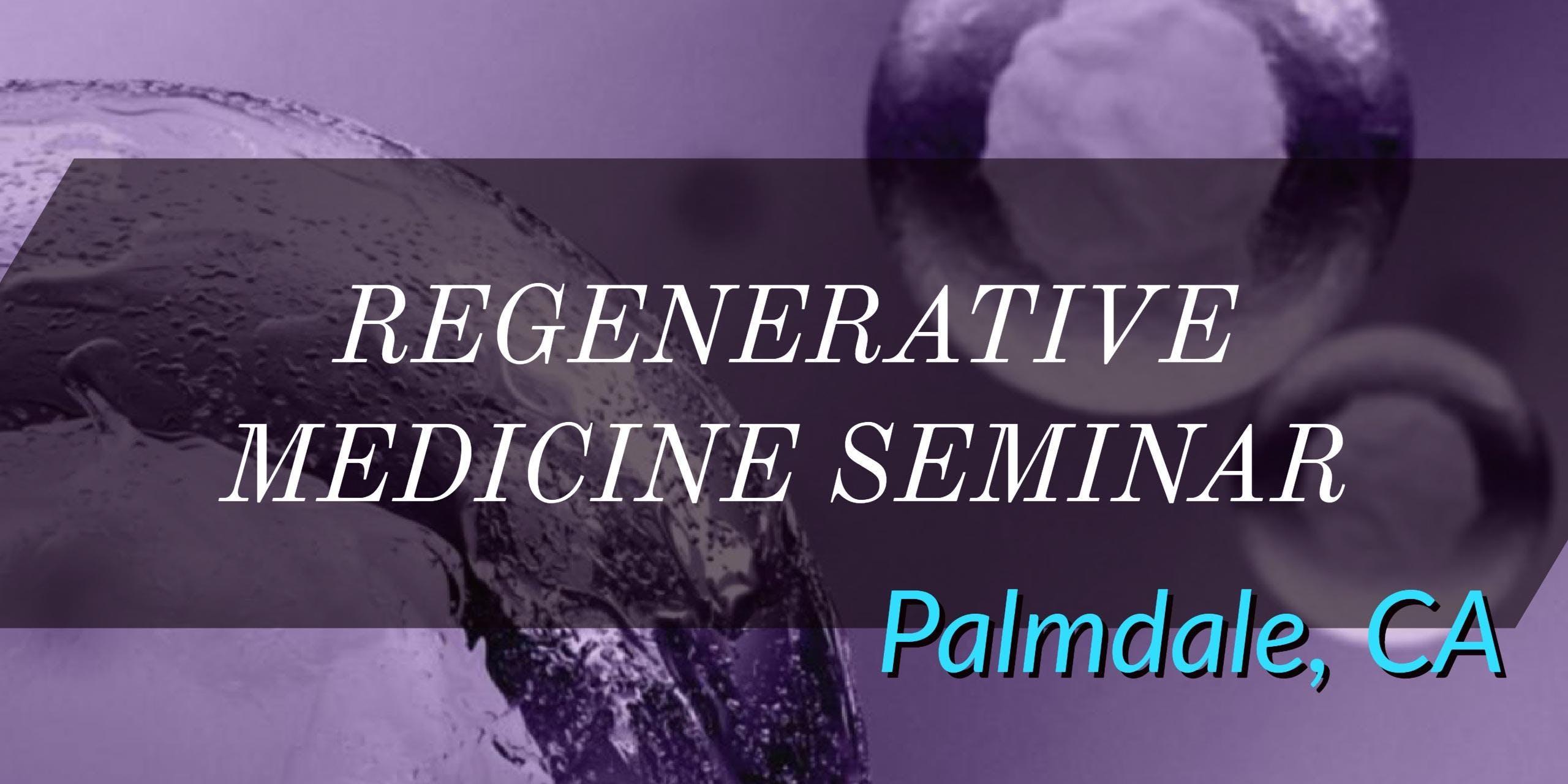 FREE Regenerative Medicine & Stem Cell Dinner