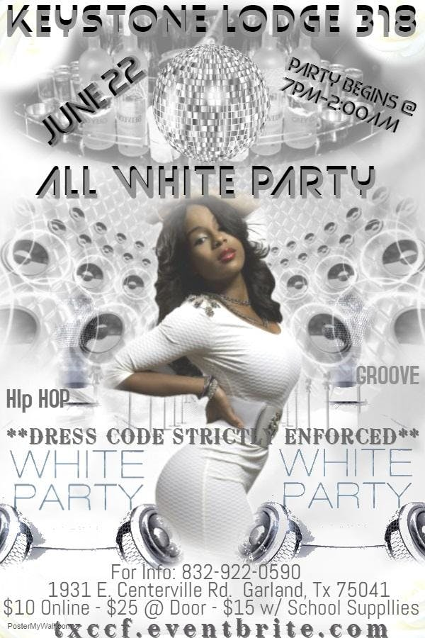 KEYSTONE 318 ALL WHITE PARTY