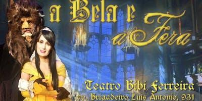 DESCONTO! A Bela e a Fera, no Teatro Bibi Ferreira