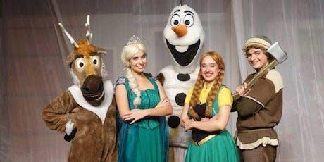 Desconto! Espetáculo infantil: Uma Aventura na Neve e o Aniversário de Anna no Teatro Bibi Ferreira ingressos