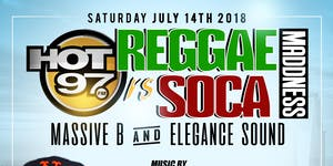 REGGAE VS SOCA MADDNESS YACHT PARTY MASSIVE B VS...