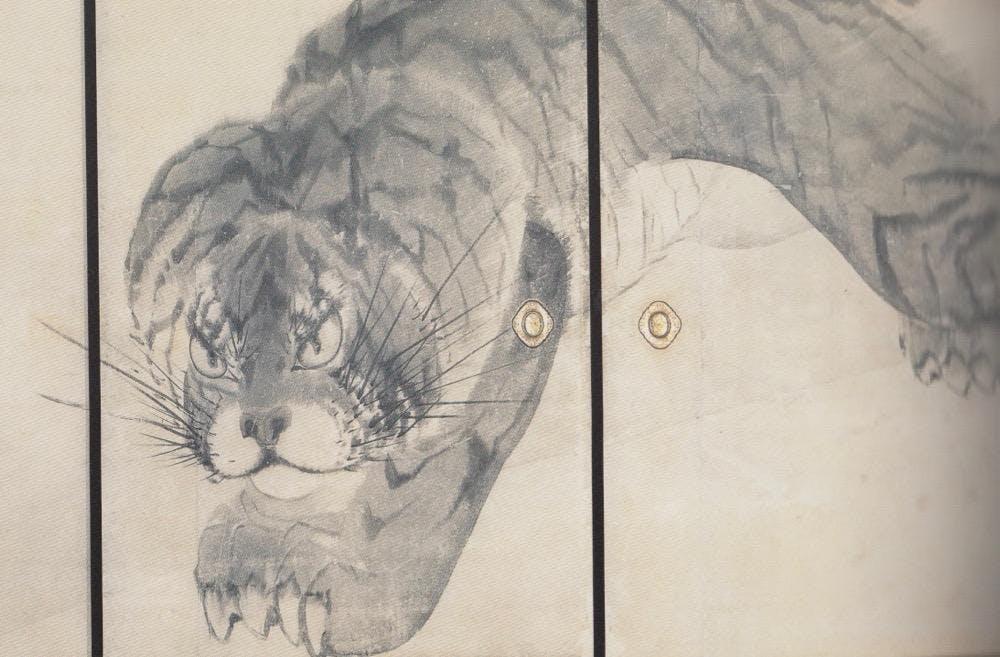 Visit Nagasawa Rosetsu exhibition - Japanesei ink painting master of the 18th Century