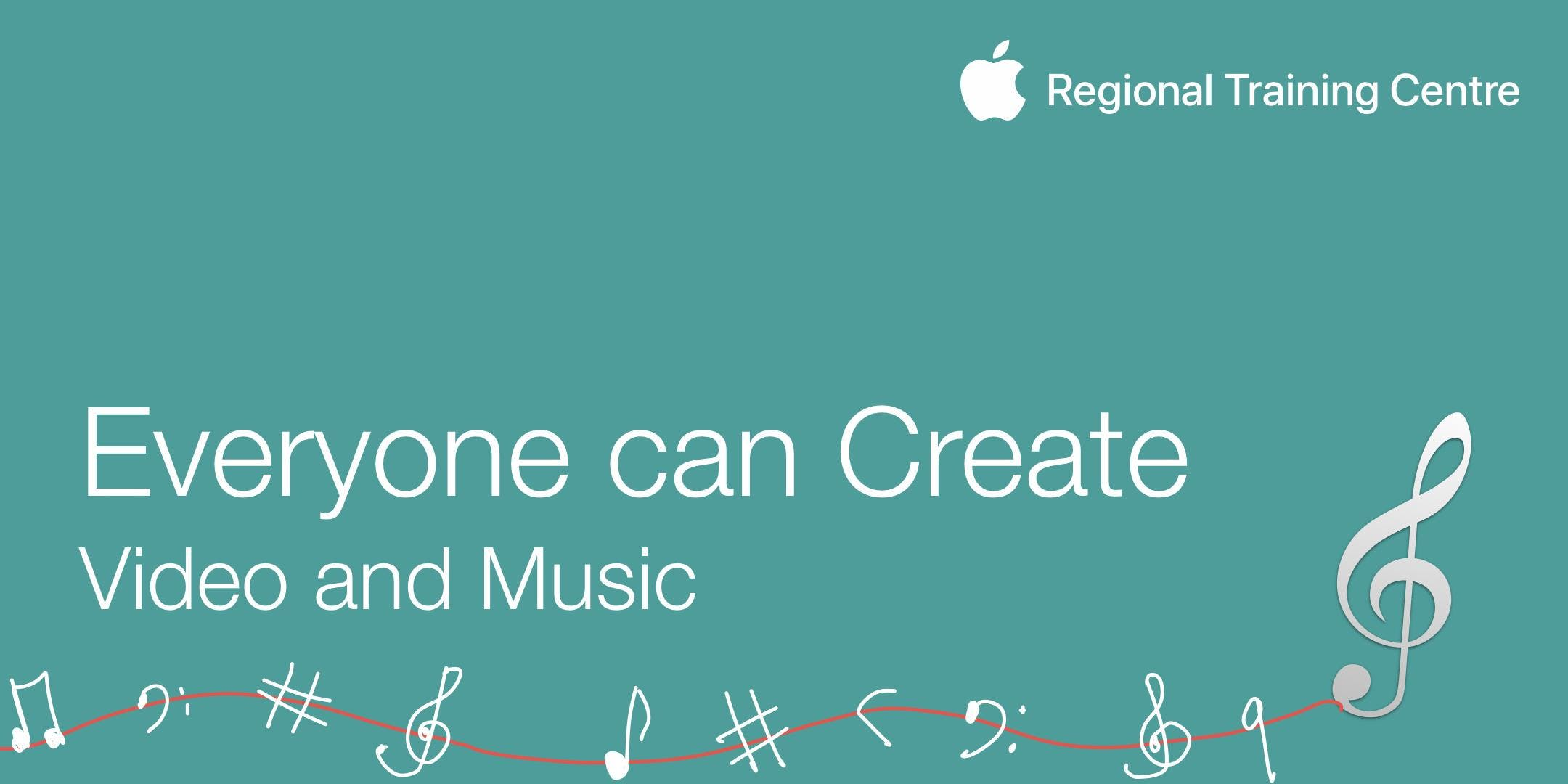 Everyone Can Create - Video and Music