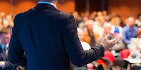 Dicção e Oratória, Pense, Fale e brilhe  em suas apresentações, base na PNL ingressos