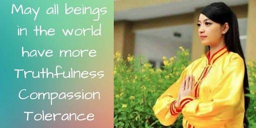 Rustgevende meditatieavonden met 'Falun Dafa' in Domein Bokrijk