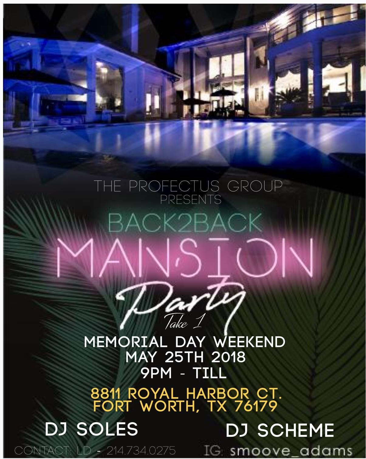 B2B Mansion Party Take 1