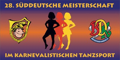 28. Süddeutsche Meisterschaft im karnevalistischen Tanzsport (Junioren)