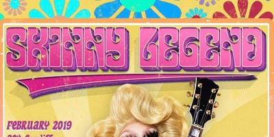 """Trixie Mattel """"SKINNY LEGEND TOUR"""" - Newcastle - 14+ - Unreserved Seating"""