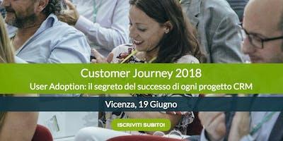 Customer Journey 2018 - User Adoption: il segreto del successo di ogni progetto CRM
