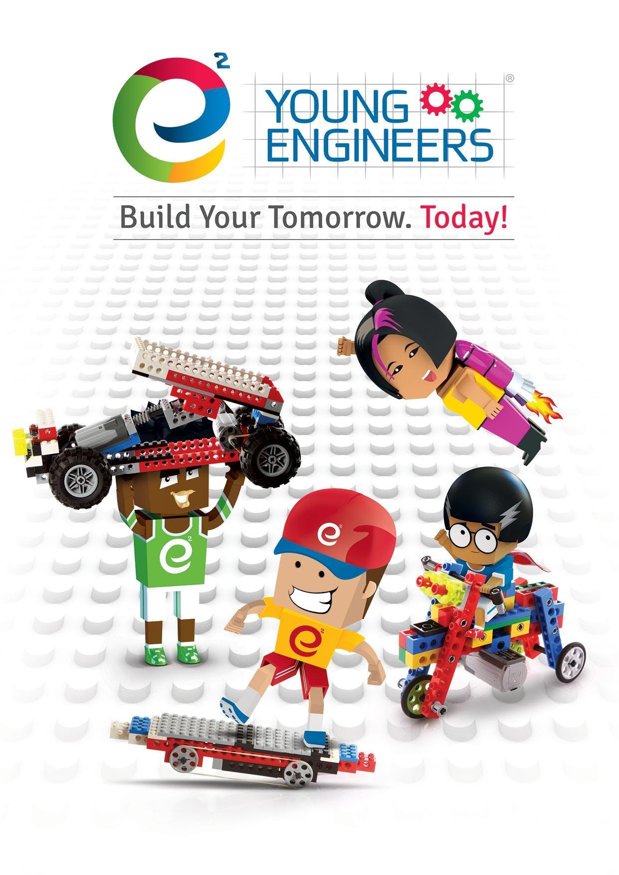 Lego Bricks Challenge - BALLSBRIDGE wk1 Summer Camp 2018 - e2 Young Engineers