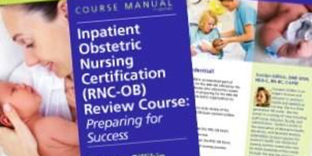 RNC-OB 2 Day Review Course Tickets, Mon, Nov 26, 2018 at 7:30 AM ...