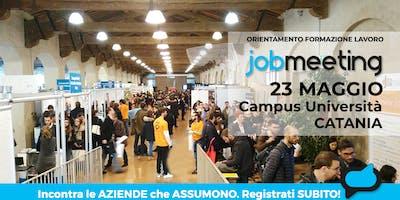 #JobMeetingCATANIA: incontra le aziende che assumono!