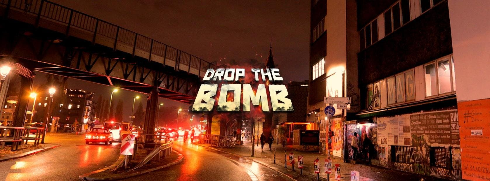 DROP THE BOMB Party, 02.06.18, Musik & Friede