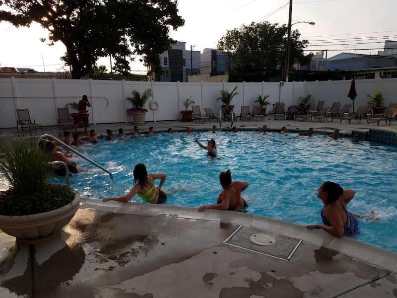 Fitness Alive's Splash + Sweat Pool Series: S