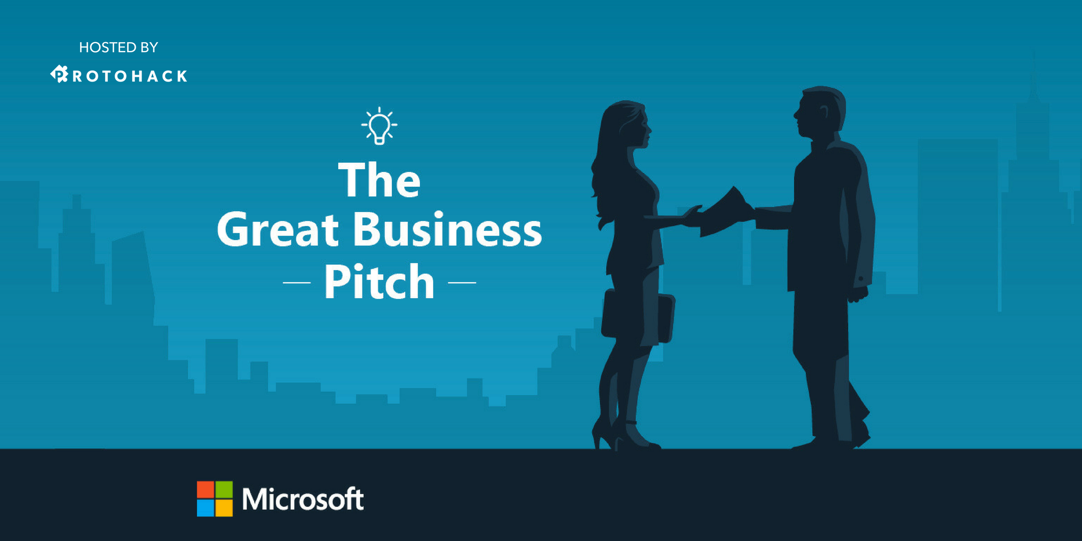Microsoft's Great Business Pitch, hosted by ProtoHack