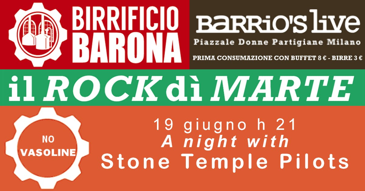 Rock dì Marte - Drugstore - free entry birra