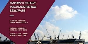 Export & Import Documentation Seminars