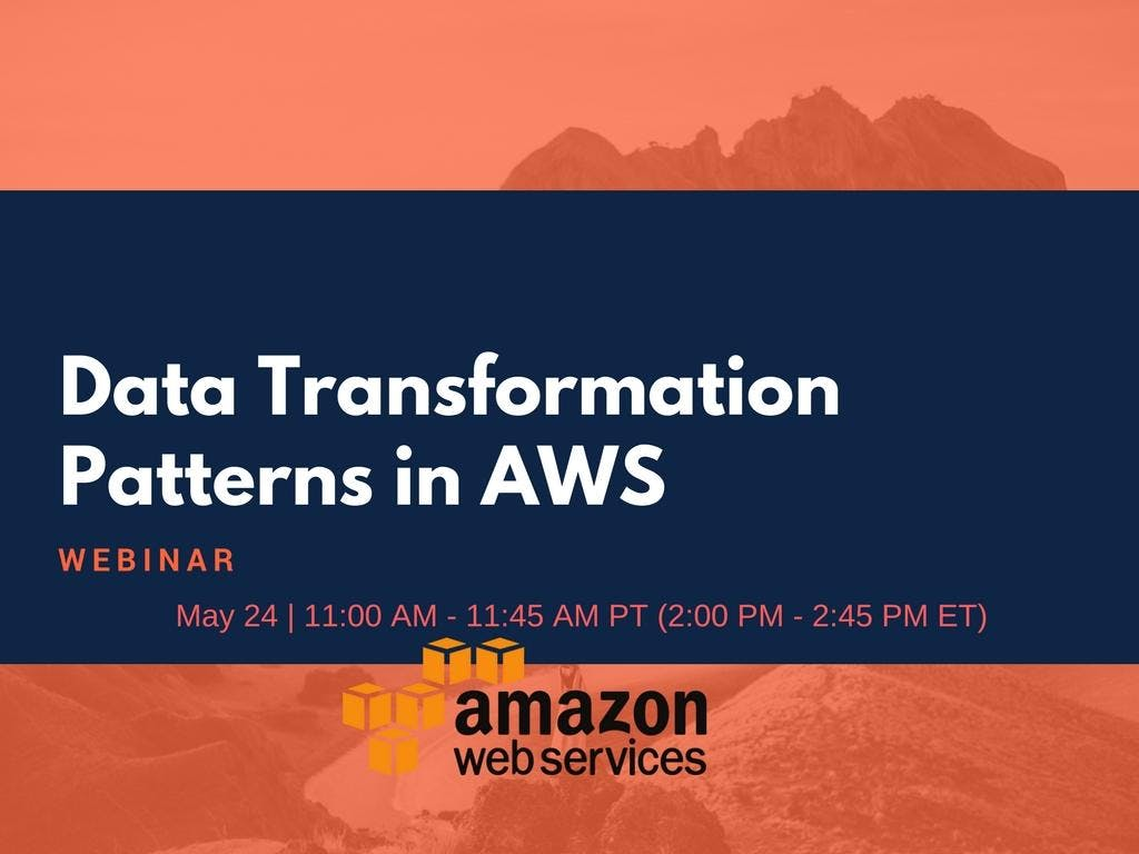 Data Transformation Patterns in AWS