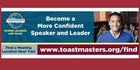 Toast of Las Olas Toastmasters tickets