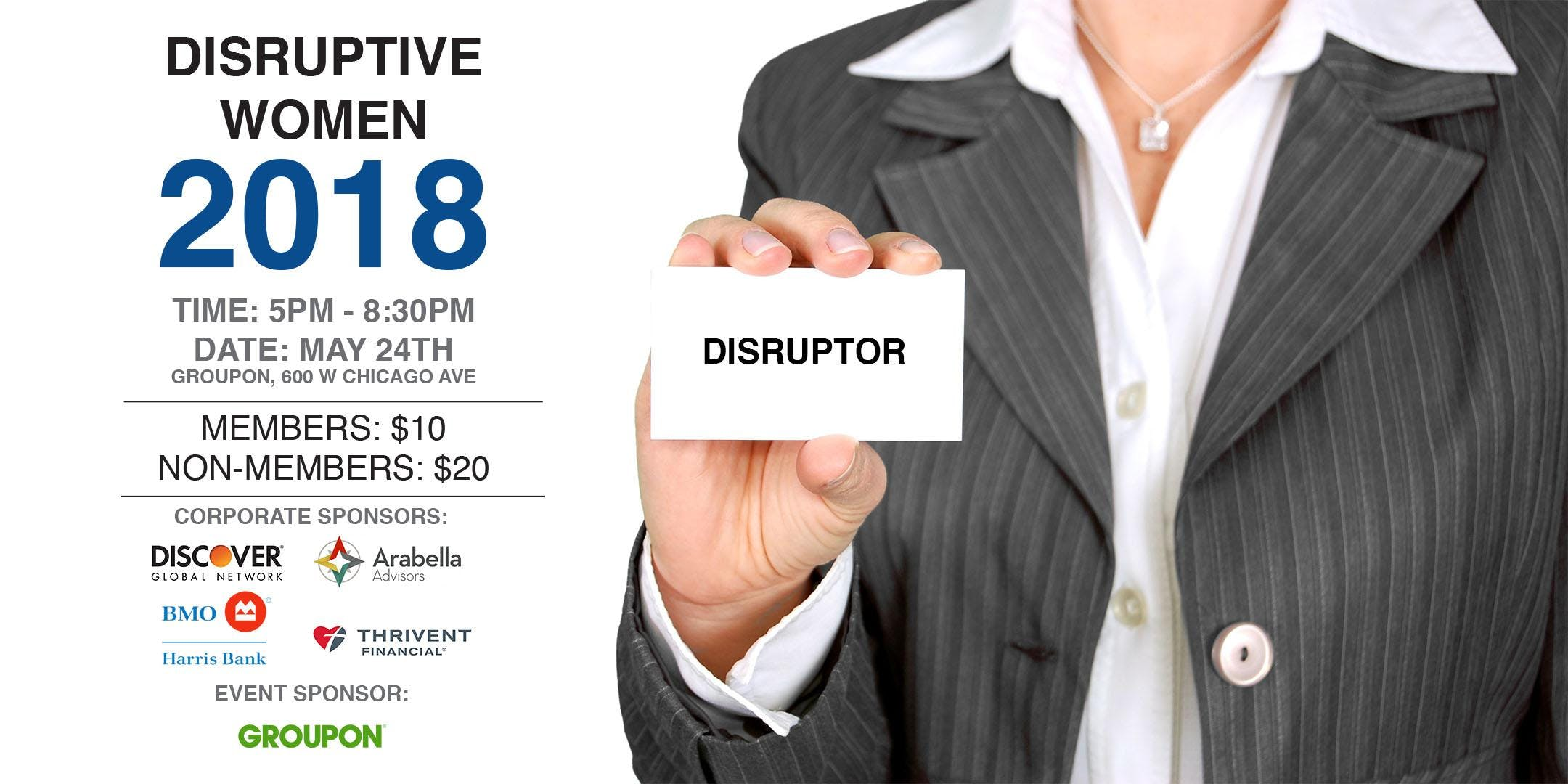 "Prospanica Women's Leadership Event: ""Disrupt"