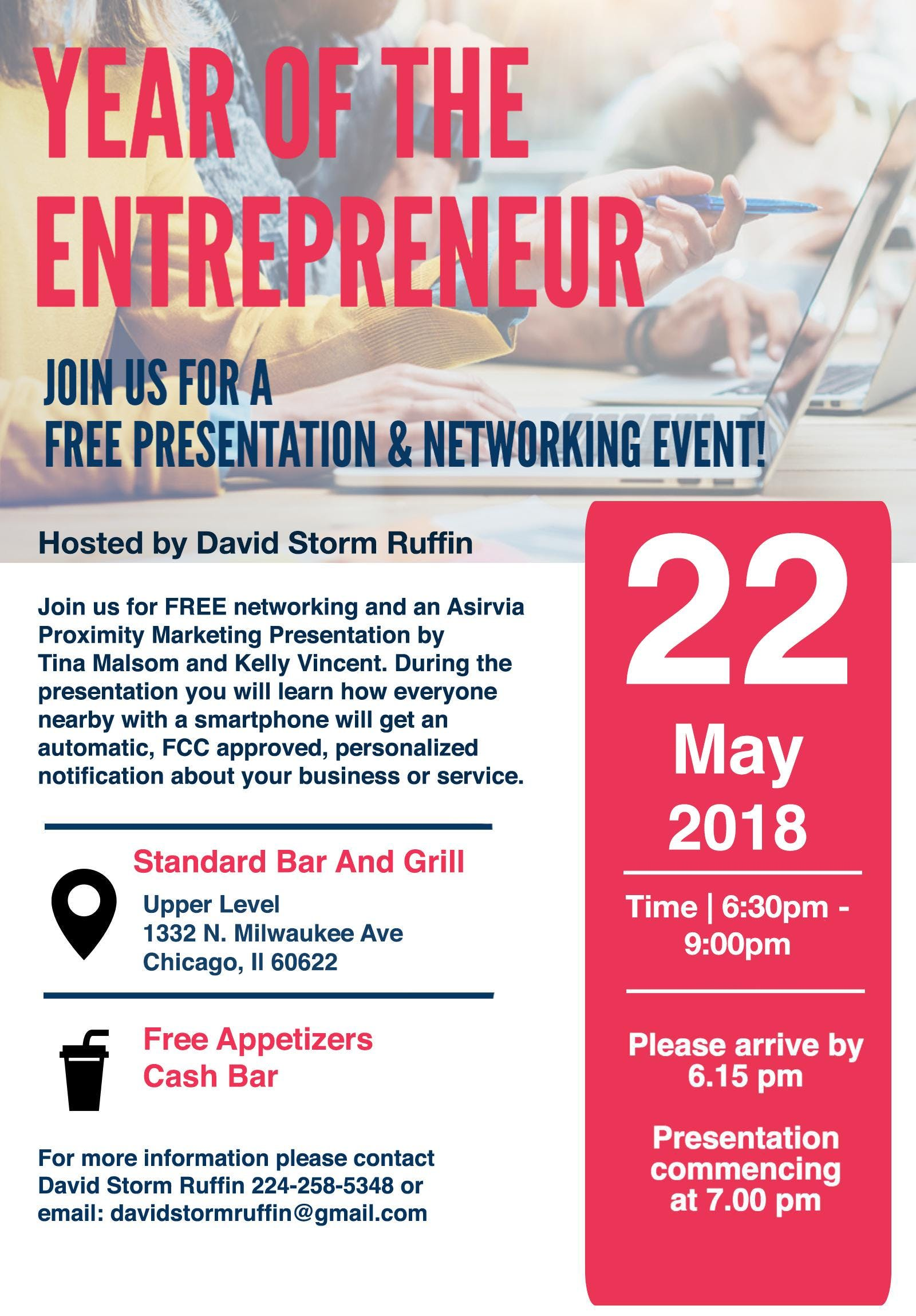 FREE: (Chicago) Networking Event for Business