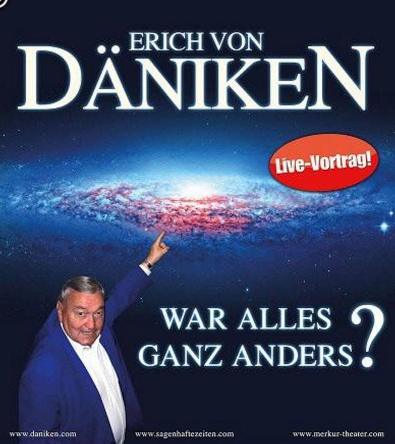 Erich von Däniken spricht in Däniken