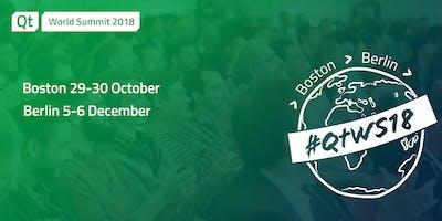Qt World Summit 2018 Berlin