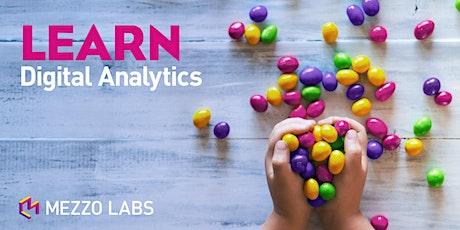Google Analytics - Advanced Analysis Training tickets