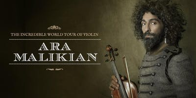 Ara Malikian en Caudete (Albacete) - The Incredible World Tour Of Violin