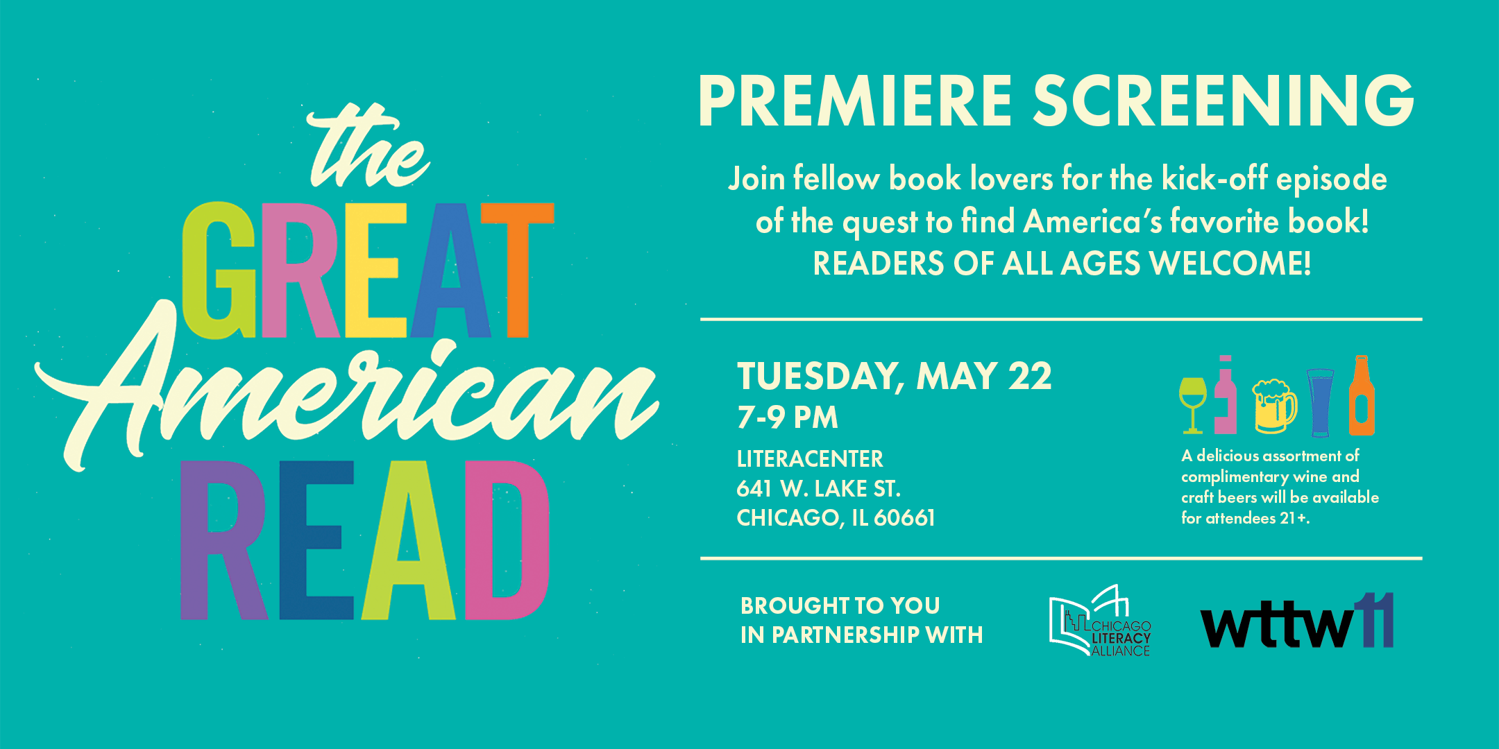 The Great American Read Premiere: A Free Scre