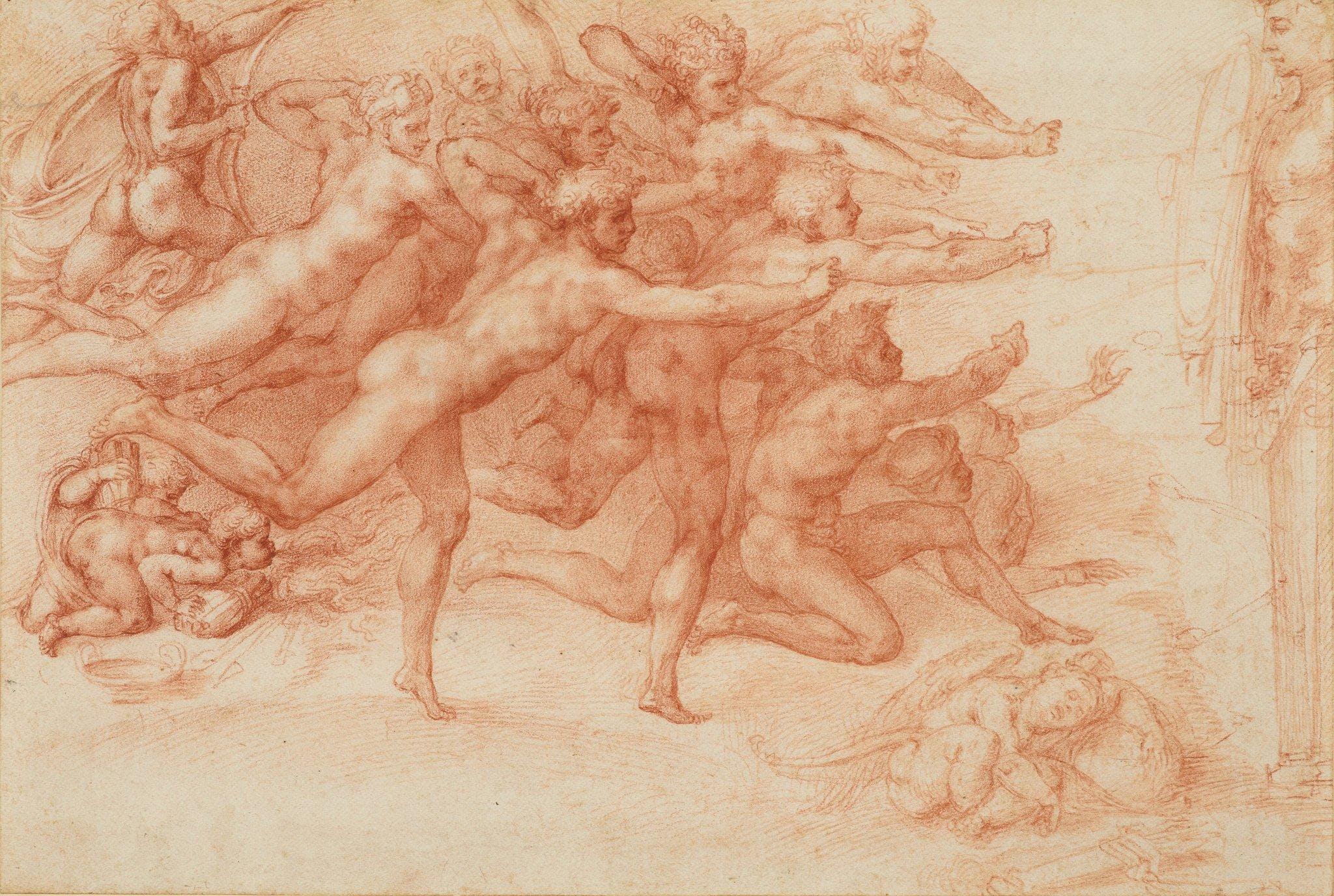 Private Art Tour   Michelangelo: Divine Draug