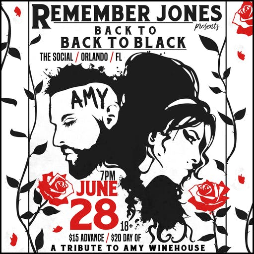 back to BACK TO BLACK: Amy Winehouse Tribute feat. Remember Jones