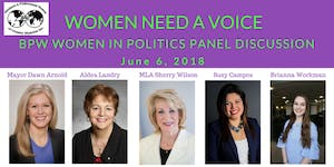 Need a Voice! BPW Greater Moncton June Meeting - Women...