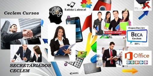 Curso Asistente Pymes Administrativo Comercial Informático salida laboral