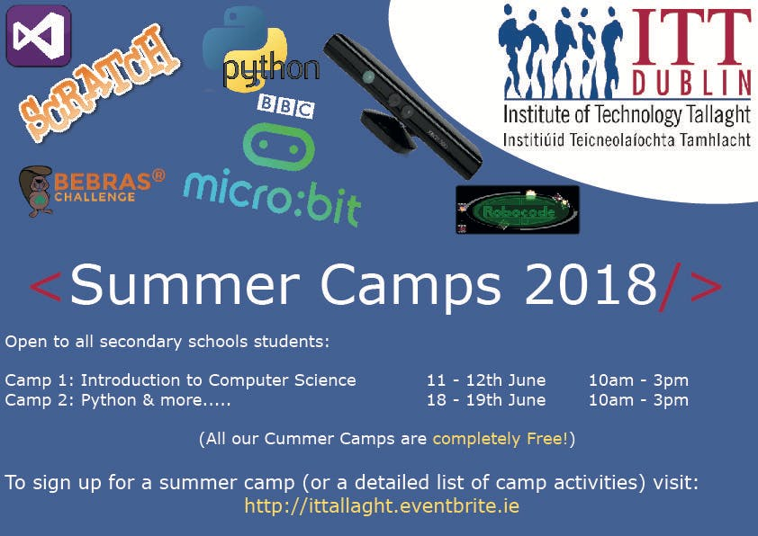 Summer Camp (Session 2 - Python and More...)