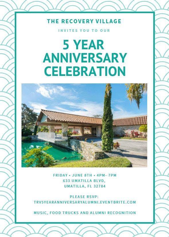 the recovery village 5 year anniversary celebration alumni 8 jun 2018