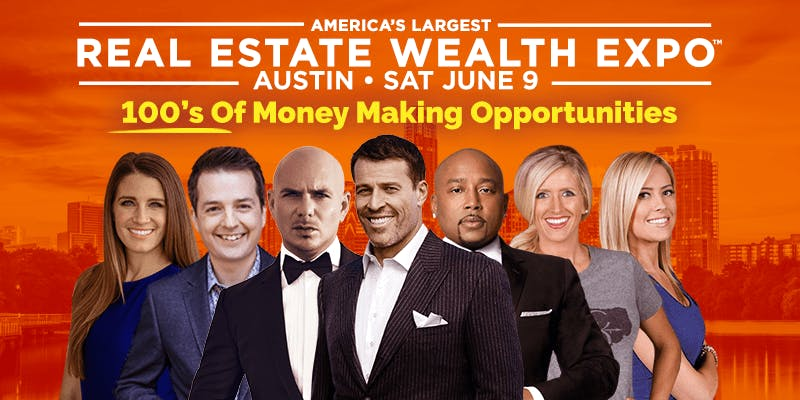Real Estate Wealth Expo featuring Tony Robbin