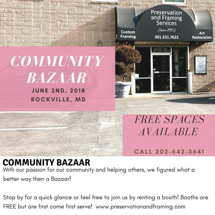 Saturday Bazaar - 30 JUN 2018