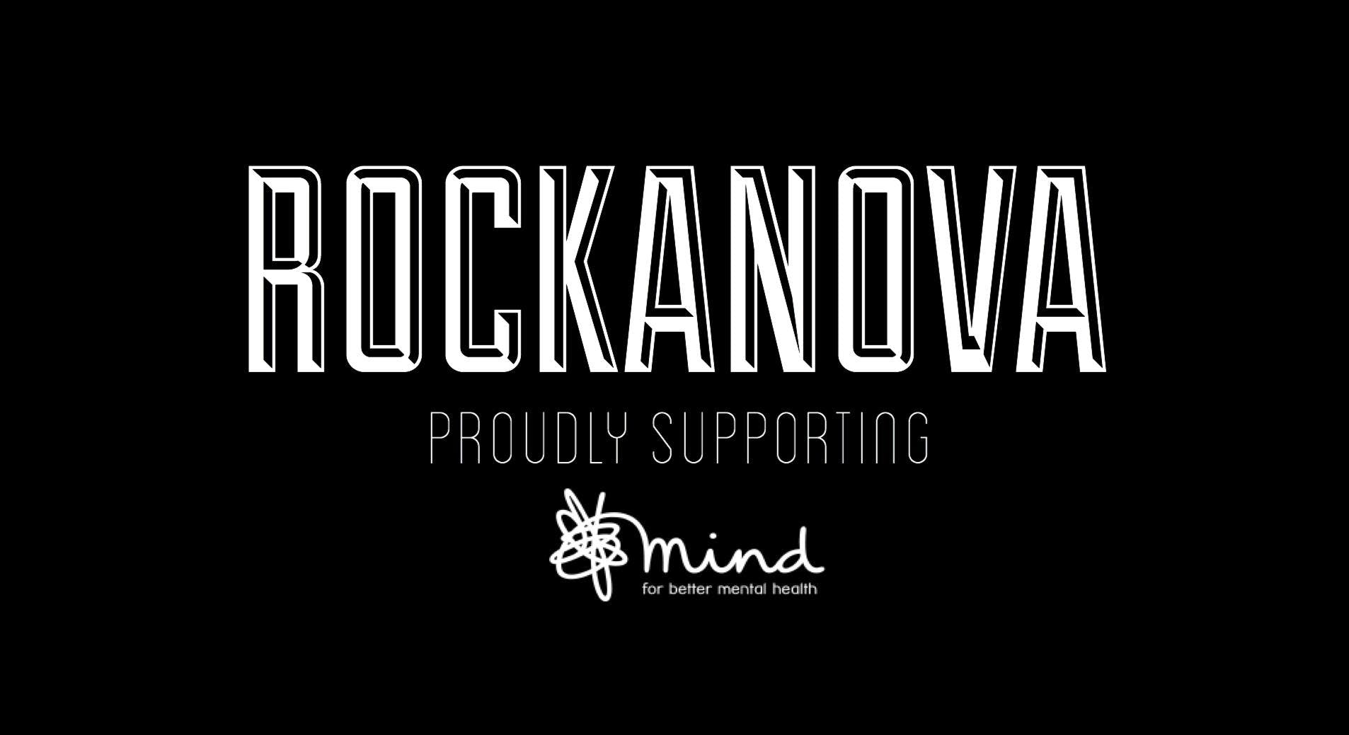 ROCKANOVA FESTIVAL - PROUDLY SUPPORTING MIND.