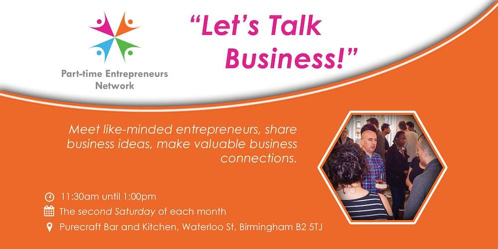 Birmingham networking event lets talk business tickets birmingham networking event lets talk business tickets multiple dates eventbrite m4hsunfo