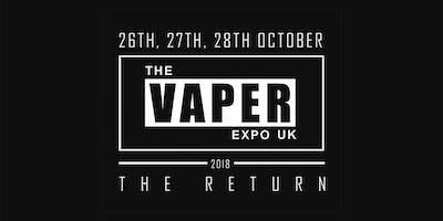 The Vaper Expo UK - The Return 2018