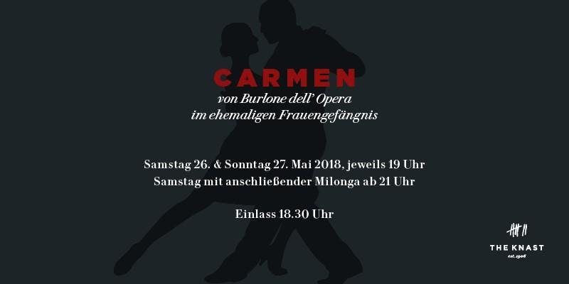 Oper Carmen von Burlone dell´Opera mit Milong