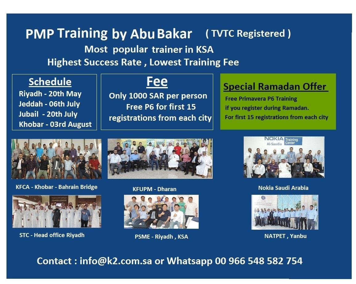 Special Ramadan Offer On Project Management Professional