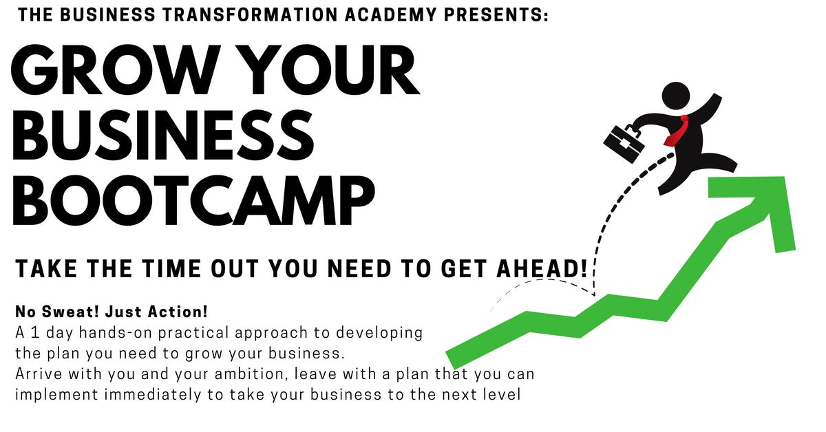GROW YOUR BUSINESS BOOTCAMP