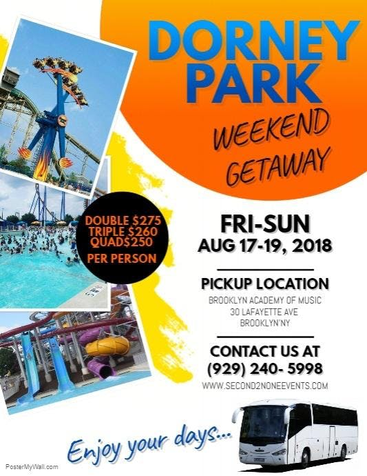 Dorney Park Wet & Wild Weekend Getaway