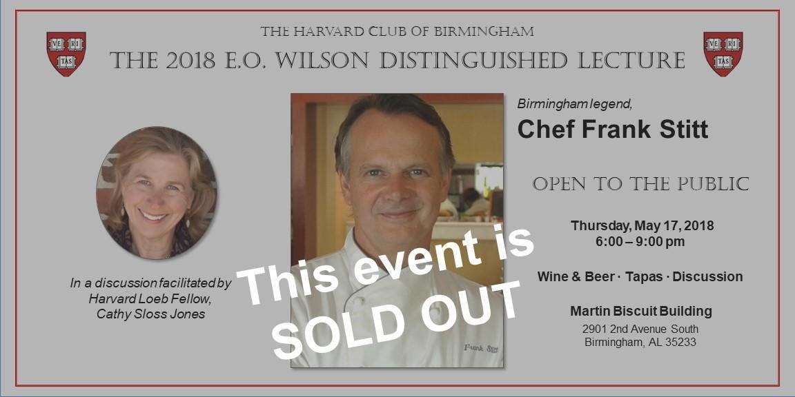 2018 E.O. Wilson Distinguished Lecture