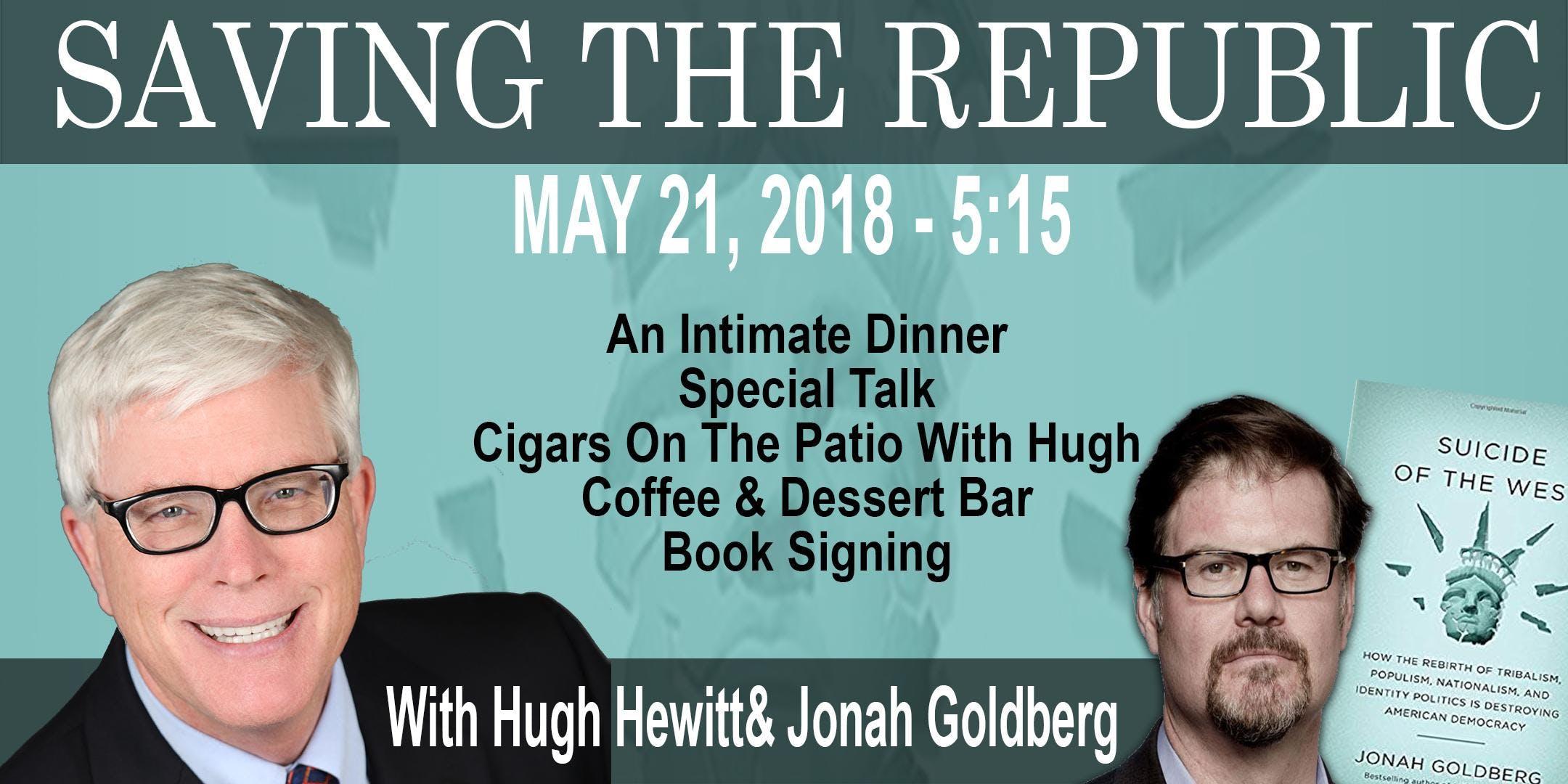 Saving The Republic with Hugh Hewitt and Jona